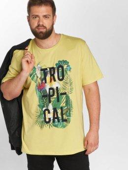 Jack & Jones T-paidat jorRain keltainen