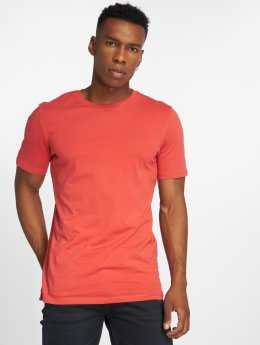 Jack & Jones T-paidat jjePlain punainen