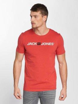 Jack & Jones T-paidat jjeCorp Logo punainen