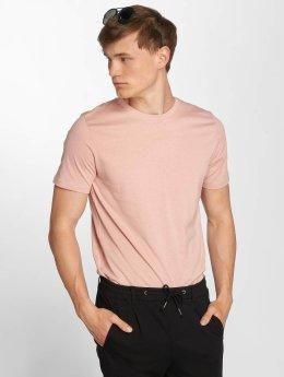 Jack & Jones T-paidat jjePlain roosa