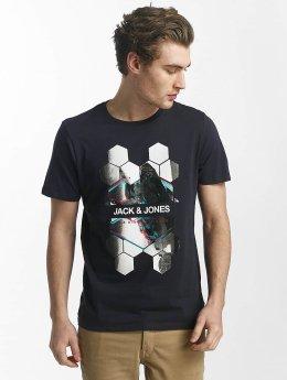 Jack & Jones T-paidat jcoHunter sininen