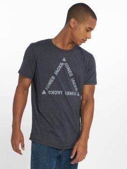 Jack & Jones T-paidat jcoGel sininen