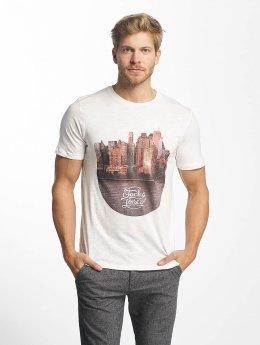 Jack & Jones T-paidat jorCash valkoinen