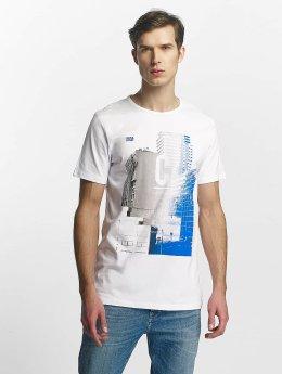 Jack & Jones T-paidat jcoBeat valkoinen