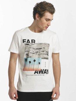 Jack & Jones T-paidat jorstane valkoinen