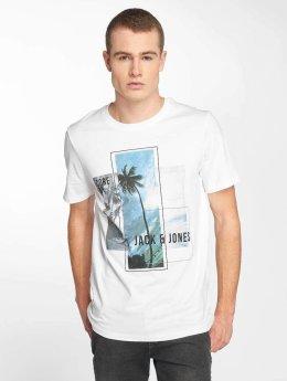 Jack & Jones T-paidat jcoWalcott valkoinen