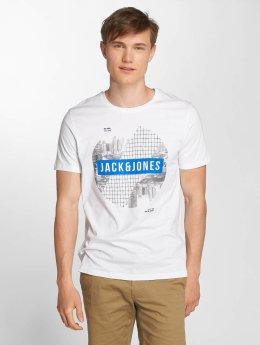 Jack & Jones T-paidat jcoFire valkoinen