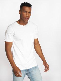 Jack & Jones T-paidat jjePocket valkoinen