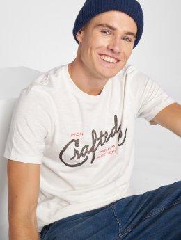 Jack & Jones T-paidat jprDavis valkoinen