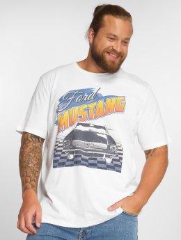Jack & Jones T-paidat jorMustang valkoinen