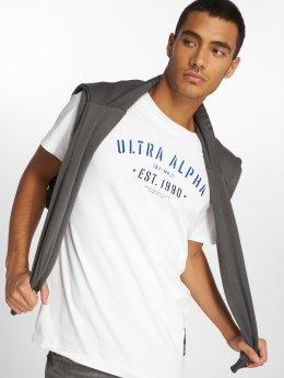 Jack & Jones T-paidat jcoFlock valkoinen