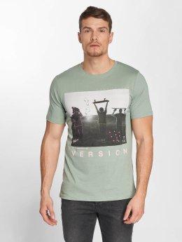 Jack & Jones T-paidat jorCityyouthline Crew Neck vihreä