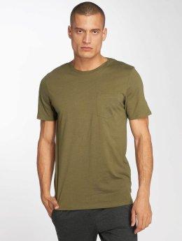 Jack & Jones T-paidat jjePocket vihreä
