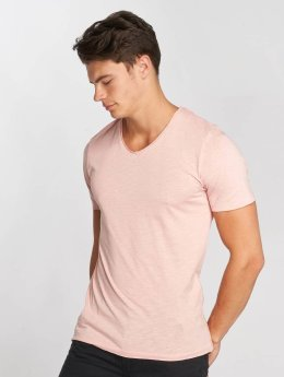 Jack & Jones jorBirch V-Neck T-Shirt Silver_Pink