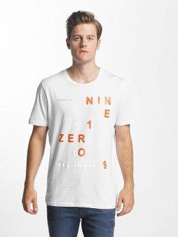 Jack & Jones T-Shirt jcoGrid blanc