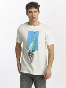 Jack & Jones T-Shirt jorBigapple blanc
