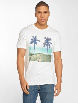 Jack & Jones T-Shirt jorHorizon blanc