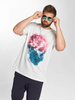 Jack & Jones T-Shirt jorSmokeskull blanc