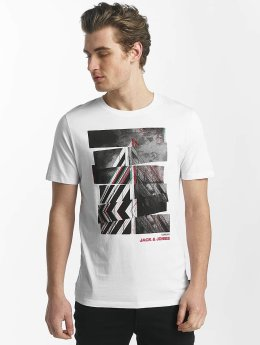 Jack & Jones T-Shirt jcoHunter blanc