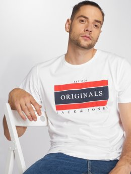 Jack & Jones T-Shirt Jorshakedown blanc