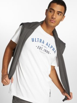Jack & Jones T-Shirt jcoFlock blanc