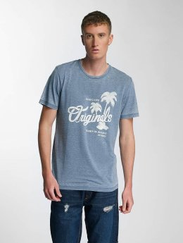 Jack & Jones T-Shirt jorHero blau