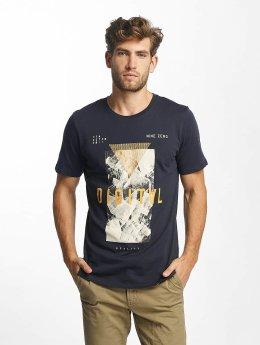 Jack & Jones T-Shirt jcoMarker blau