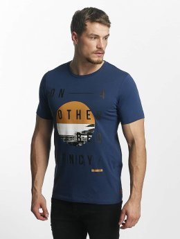 Jack & Jones T-Shirt jcoOctupus blau