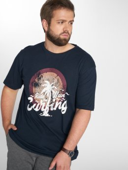 Jack & Jones T-Shirt jorBoby blau