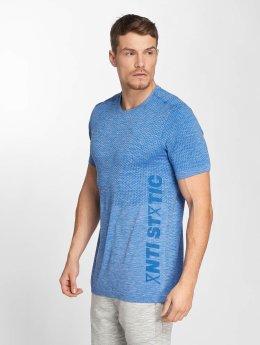 Jack & Jones T-Shirt jcopStatic Seamless blau