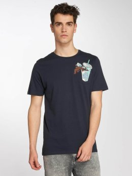 Jack & Jones T-Shirt jorCube blau