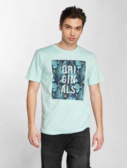 Jack & Jones T-Shirt jorEnzo blau