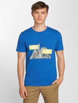 Jack & Jones T-Shirt jcoFire blau