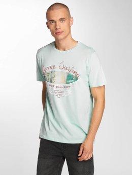 Jack & Jones T-Shirt jorPleo blau