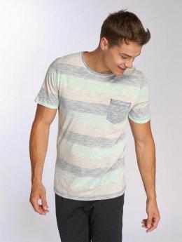 Jack & Jones jorStanly Stripe Crew Neck T-Shirt Plume