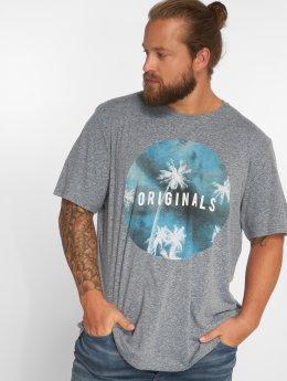 Jack & Jones T-Shirt jorStream blau