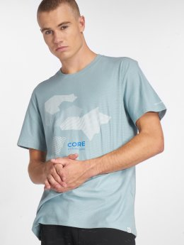 Jack & Jones T-Shirt jcoNine blau