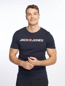 Jack & Jones T-Shirt jjeCorp Logo blau