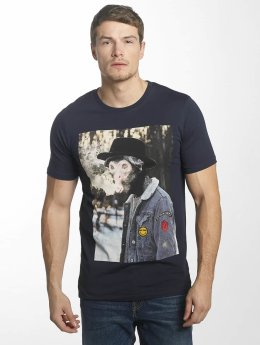 Jack & Jones T-Shirt jorHearty blau