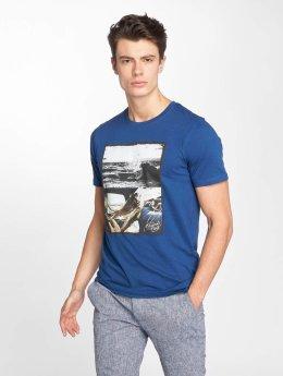 Jack & Jones T-Shirt jorRoad blau