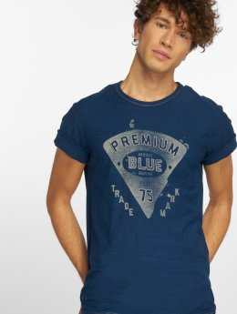 Jack & Jones T-Shirt jprHank blau