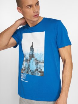 Jack & Jones T-Shirt Jcocityskull blau