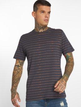 Jack & Jones T-Shirt jorTexturestripe blau