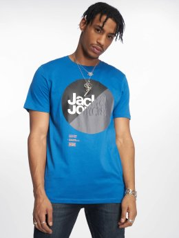 Jack & Jones T-Shirt jcoLogan blau