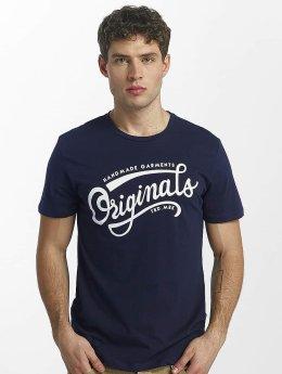 Jack & Jones t-shirt jorNewraffa blauw