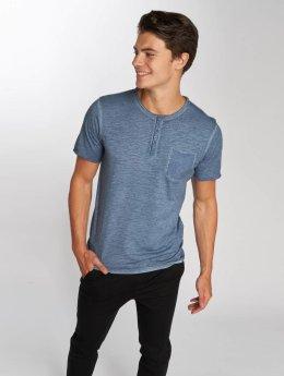 Jack & Jones t-shirt jorCali Granddad blauw