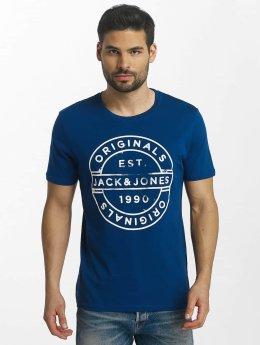 Jack & Jones t-shirt jorSlack blauw