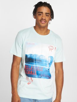Jack & Jones t-shirt Jormisty blauw