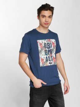 Jack & Jones T-Shirt jorEnzo bleu