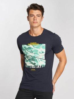 Jack & Jones T-Shirt coColes bleu